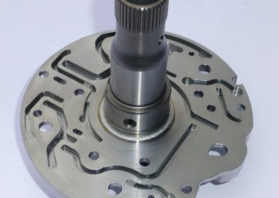 Complex machining, Welded Assemblies